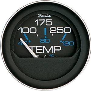 coral 100-250°f water temperature gauge