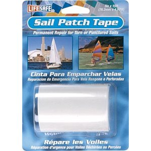 sail patch tape - clear - 3 in x 15 ft