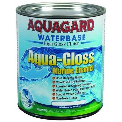l aqua gloss d aquaguard est une peinture marine colorfast r sistante aux rayons uv qui produit. Black Bedroom Furniture Sets. Home Design Ideas
