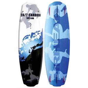 carbon wakeboard w / assault bding
