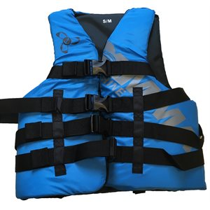Canadian approved adult premium boating lifejacket vest, XS