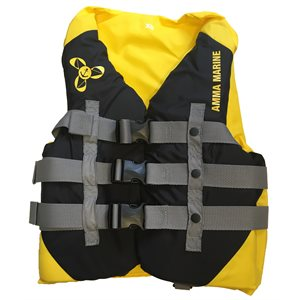 Luxury Canadian approved outdoor sports & boating lifejacket vest, LARGE