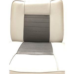 back-to-back lounge seat gry / charcoal