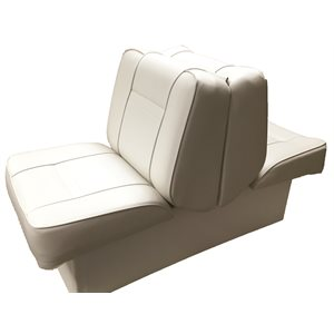 lounge back-to-back seat white