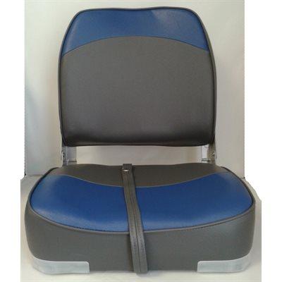 siege pliant anthracite bleu. Black Bedroom Furniture Sets. Home Design Ideas