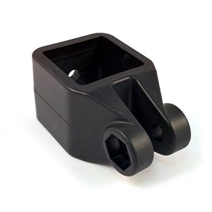 "1"" nylon square jam for square tube"