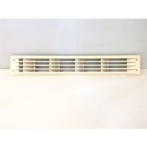 beige louvered vent