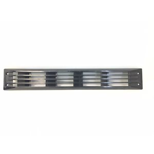 black louvered vent