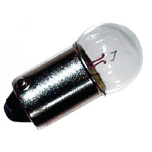 bulb double contact bayonet, 12v, .5 9a, 8w, 4cp 2