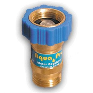 water pressure regulator for fresh water hose