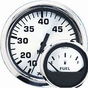 euro white fuel level gauge