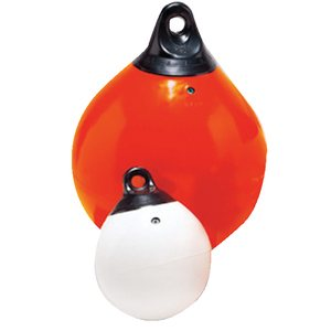 MOORING BUOY ORANGE 23""