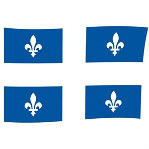 quebec flag 36 x 72