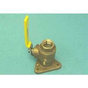 bronze full flow valve ¾''