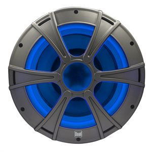 10'' SUBWOOFER MARINE BLUE LED