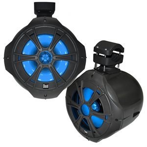 "H-PARLEUR de TOUR de WAKE 8"" LED BLEU"