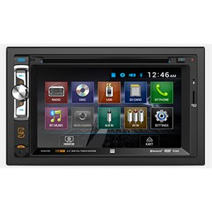 DOUBLE DIN DVD /  CD /  MP3 /  AM /  FM /  BLUETOOTH /  USB /  SD