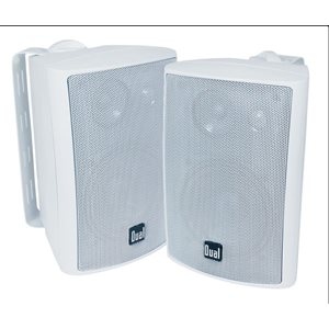 "4"" 3-WAY 200W SPEAKERS WHT"