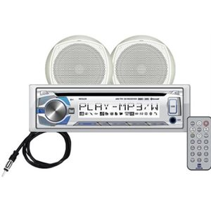 am / fm / cd / mp3 w / 2 speaker 6.5'' /  ant. /  remote