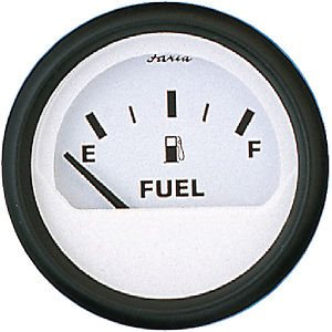 euro white oil pressure gauge