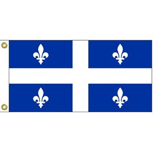 "QUEBEC FLAG 9""X18"""