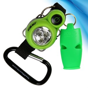 adventure led light and micro whistle combo