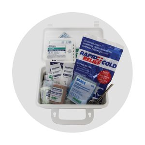 mini first aid kit (53 pces)