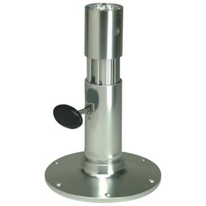 Adjustable friction lock pedestal