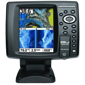 698ci hd si internal gps / sonar combo fishfinder with side imagingcombo - side imaging