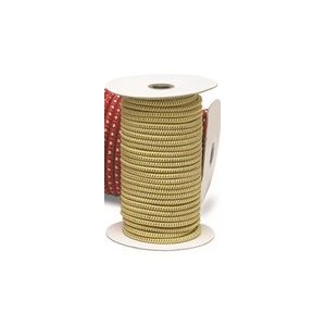 "STRETCH CORD YELLOW 1 / 4"" X 100', SOLD PER FOOT"