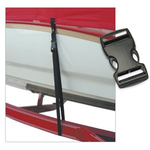 "SNAP LOCK BOAT COVER TIE-DOWN 1"" X 4'"