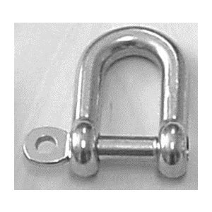 CAPTIVE PIN D-SHACKLE 3 / 16