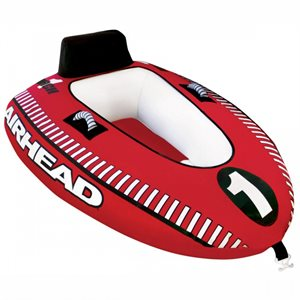 mach 1 inflatable single rider towable water tube