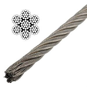 SST AIRCRAFT CABLE x19 -5 / 32""