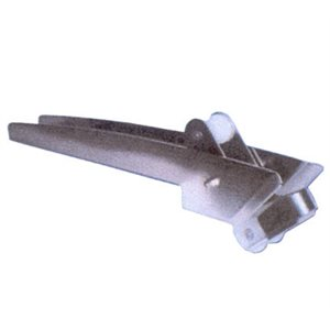 "rouleau d'ancre, drop nose 37-1 / 2""x3- 3 / 4"""