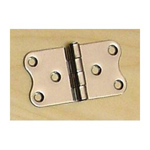 HINGE, BUTTERFLY SS 3-1 / 8 X 1-9 / 16