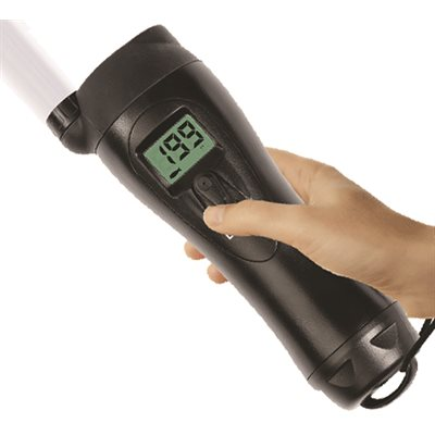 handheld depth sender w / xenon flashlight