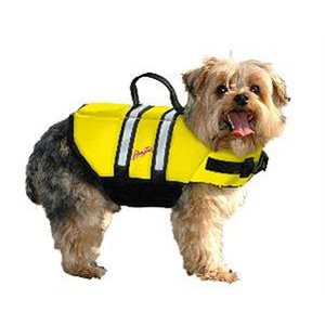 DOGGY VEST XXS YELLOW