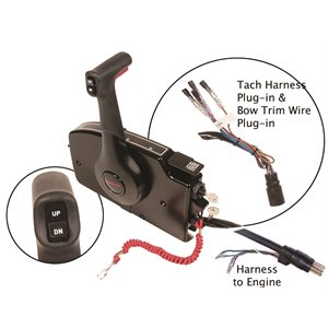 side mount remote control- 8 pin