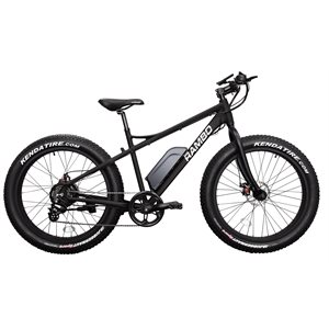 fat bike 500w noir mat