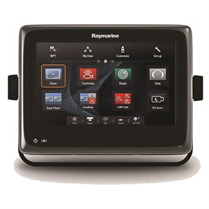 "gps / f-finder w / 9"" screen, wi-fi & navionics"