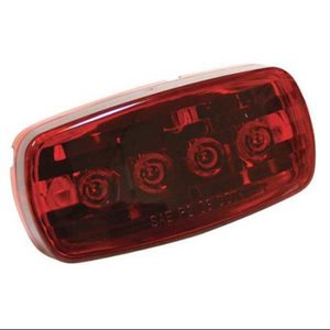4 led clearance /  marker light red