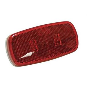 led clearance light w / reflex red