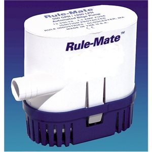 12v 1500 gal. bilge pump-rule mate
