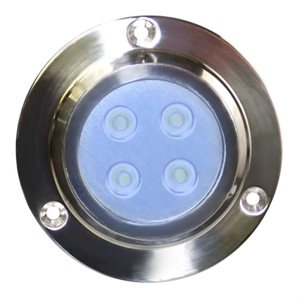 underwater 4 led light blue