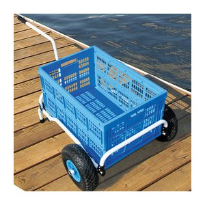 collapsible dock cart