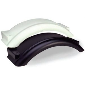 small white plastic fender 12""